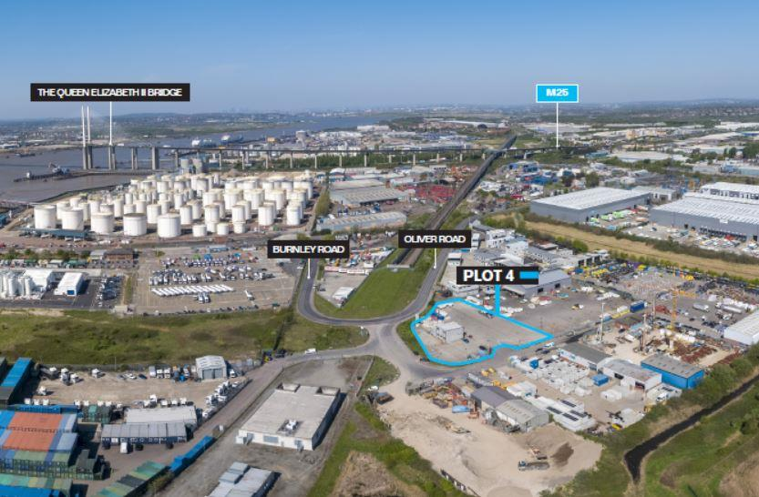 Image of Plot 4 Thurrock Open Storage Park, Oliver Road, West Thurrock Grays