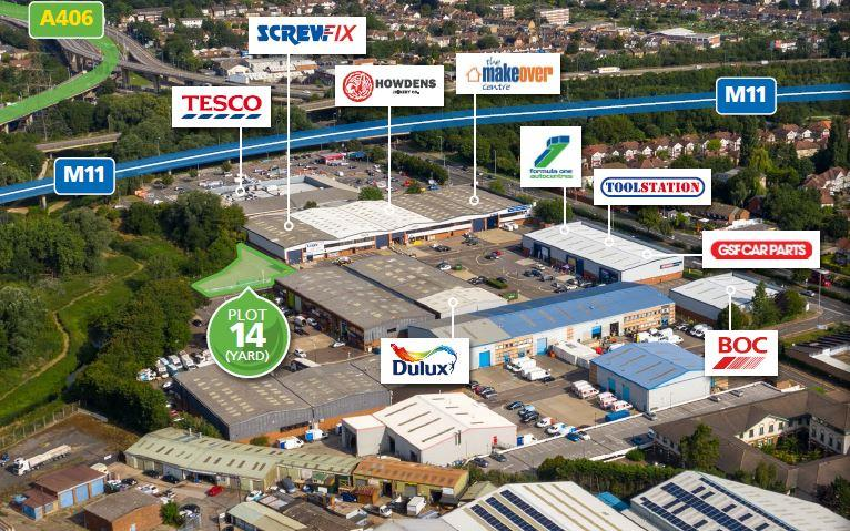 Image of Plot 14 Woodford Trading Estate, Southend Road, Woodford Green